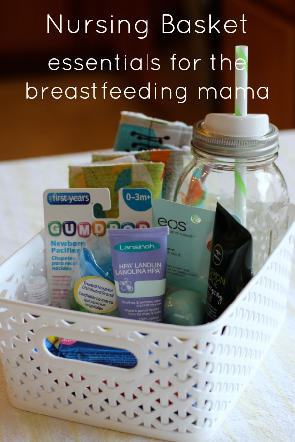 breastfeeding nursing basket